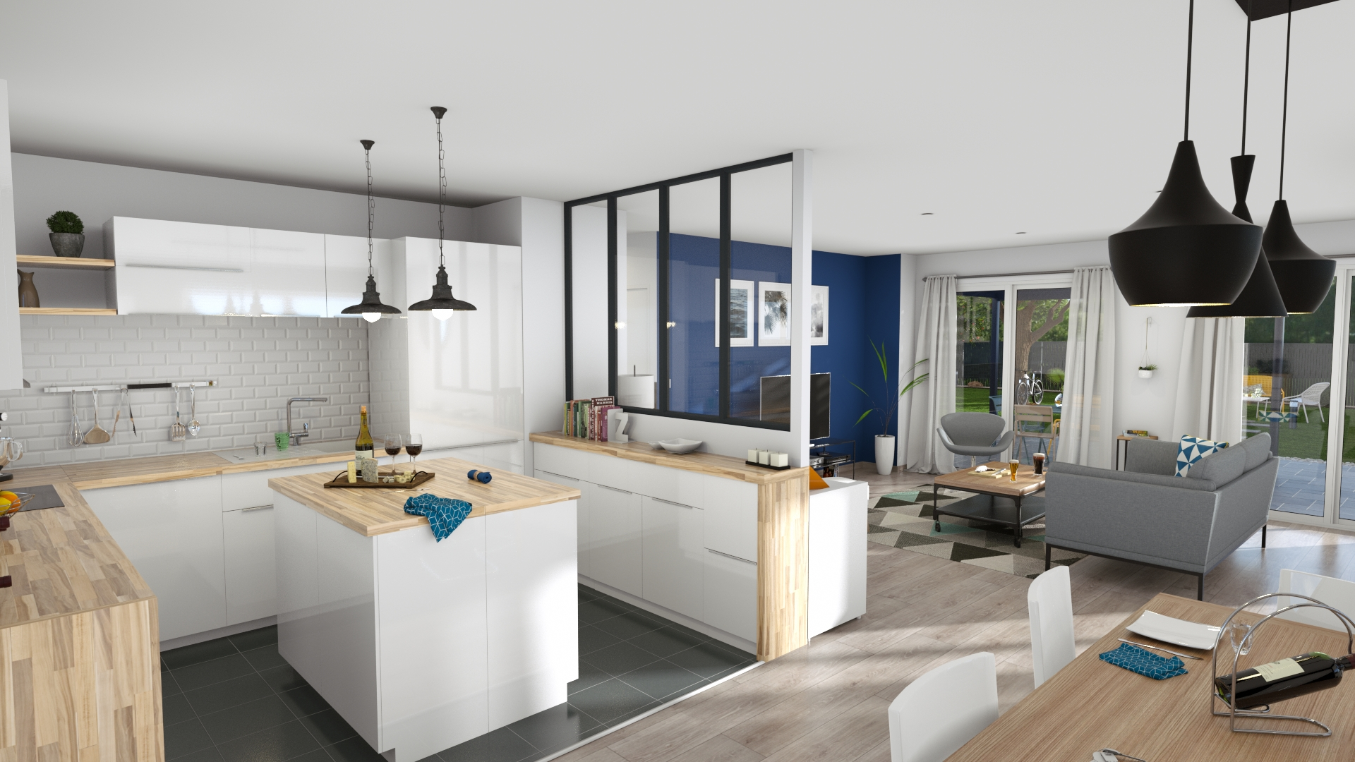 3D Interior Home Layout