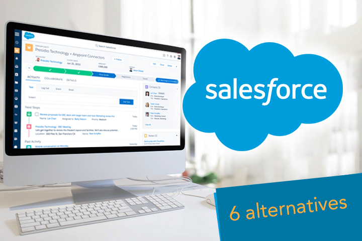 Salesforce alternatives CRM software