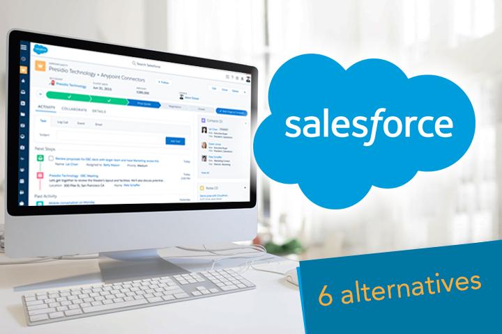 Salesforce alternatives CRM software