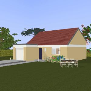 3D Kozikaza House Plan