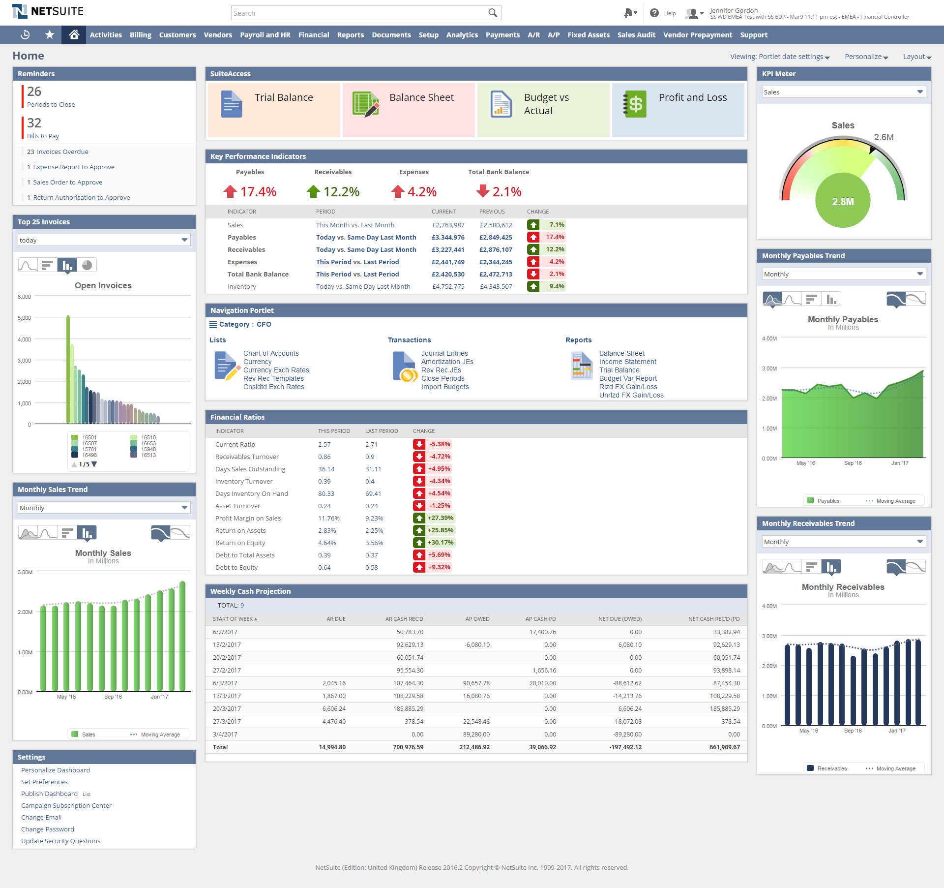 NetSuite Cloud Accounting