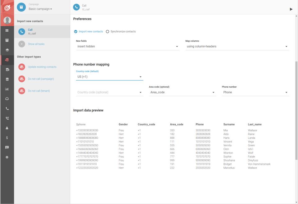 Dialfire, cloud based call center software