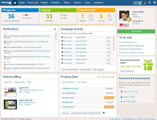 Point2 Agent, the CRM dedicated to collaborative agencies