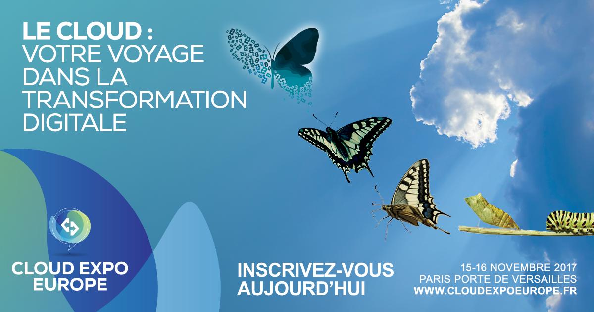 [EVENEMENT] Cloud Expo Europe Paris 2017