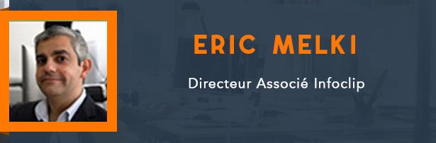 Eric Melki, Directeur Associé Infoclip