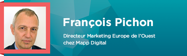 François Pichon, Directeur Marketing Europe de l'Ouest chez Mapp Digital