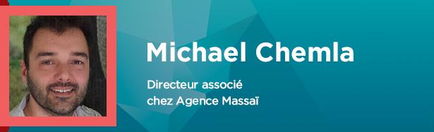Michael Chemla, Directeur associé chez agence Massaï