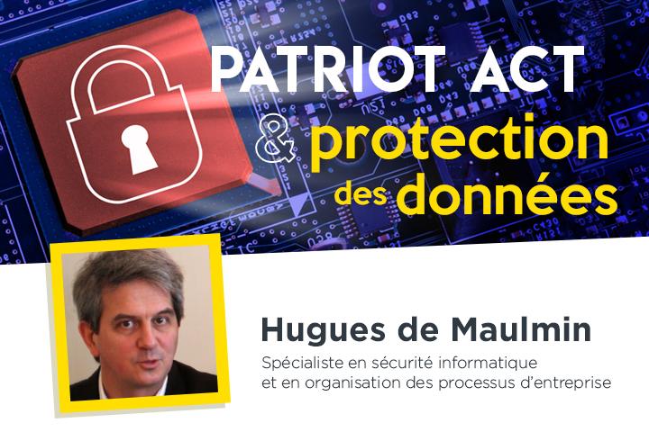 Patriot Act et protection des données pour les services de partage de fichiers