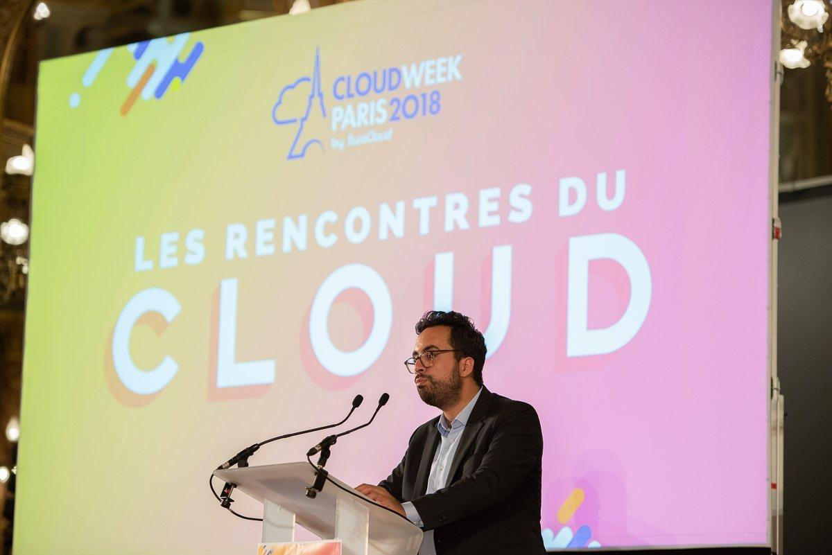 Mounir Mahjoubi ouvre « Les Rencontres du Cloud »
