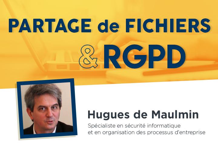 L'envoi et le partage de fichiers face aux exigences du RGPD