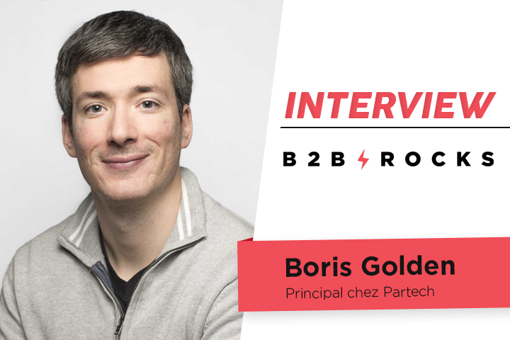 [ITW B2B ROCKS] Boris Golden, Principal chez Partech