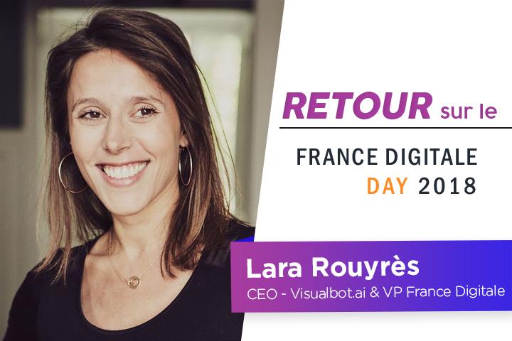 Lara Rouyrès, VP France Digitale : l'I.A. destructrice de Business Models ?