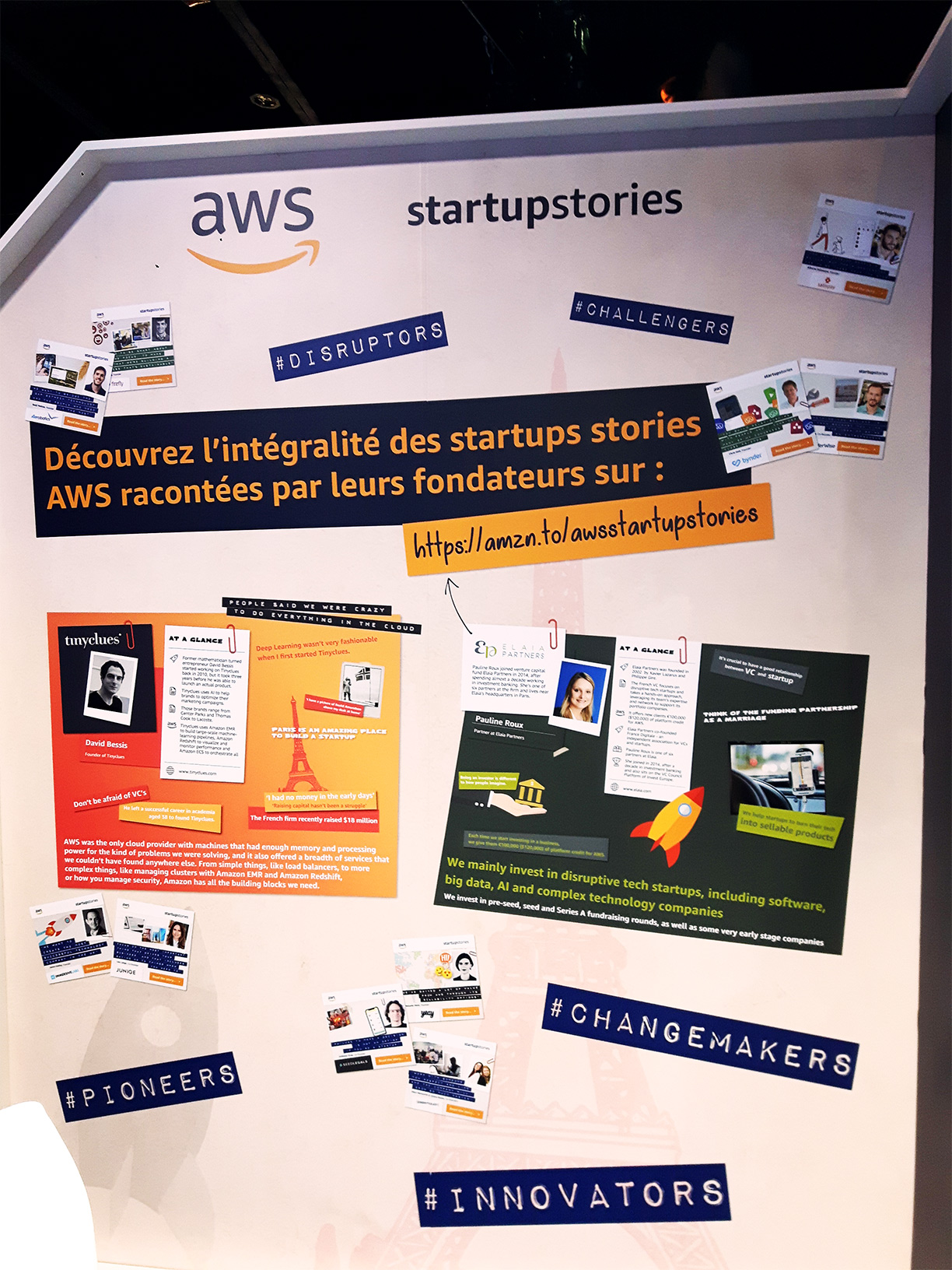 France DIgitale Day 2018 : le stand AWS Activate, programme pour startup