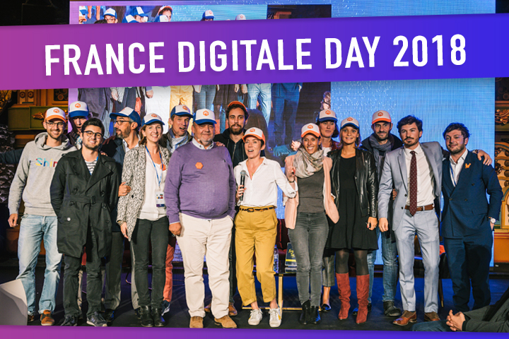 France Digitale Day 2018 : startups et experts partagent leur expérience