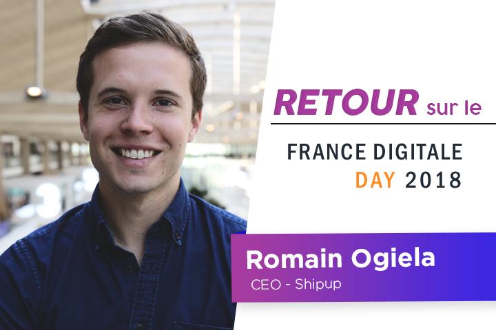 Interview de Romain Ogiela, CEO de Shipup, startup propulsée par Zendesk chez Station F