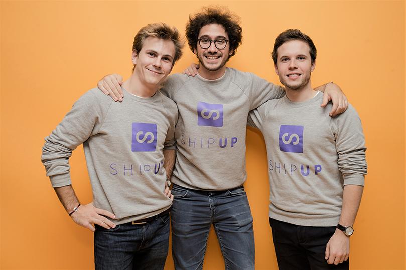 L'équipe de la startup Shipup au France Digitale Day 2018