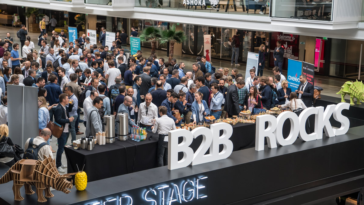 B2B Rocks Paris, cocktail et networking