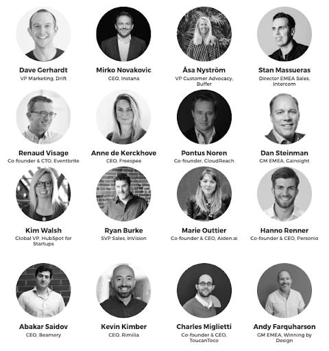 Les speakers B2B Rocks Paris 2019