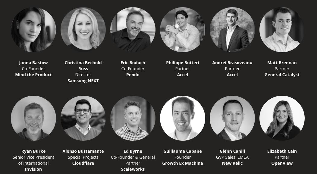 Les speakers de l'édition 2019