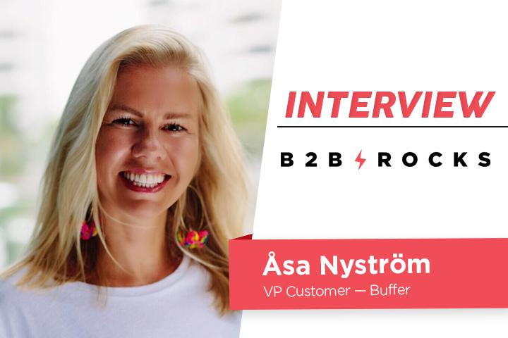 B2B Rocks Paris 2019: Åsa Nyström's insights