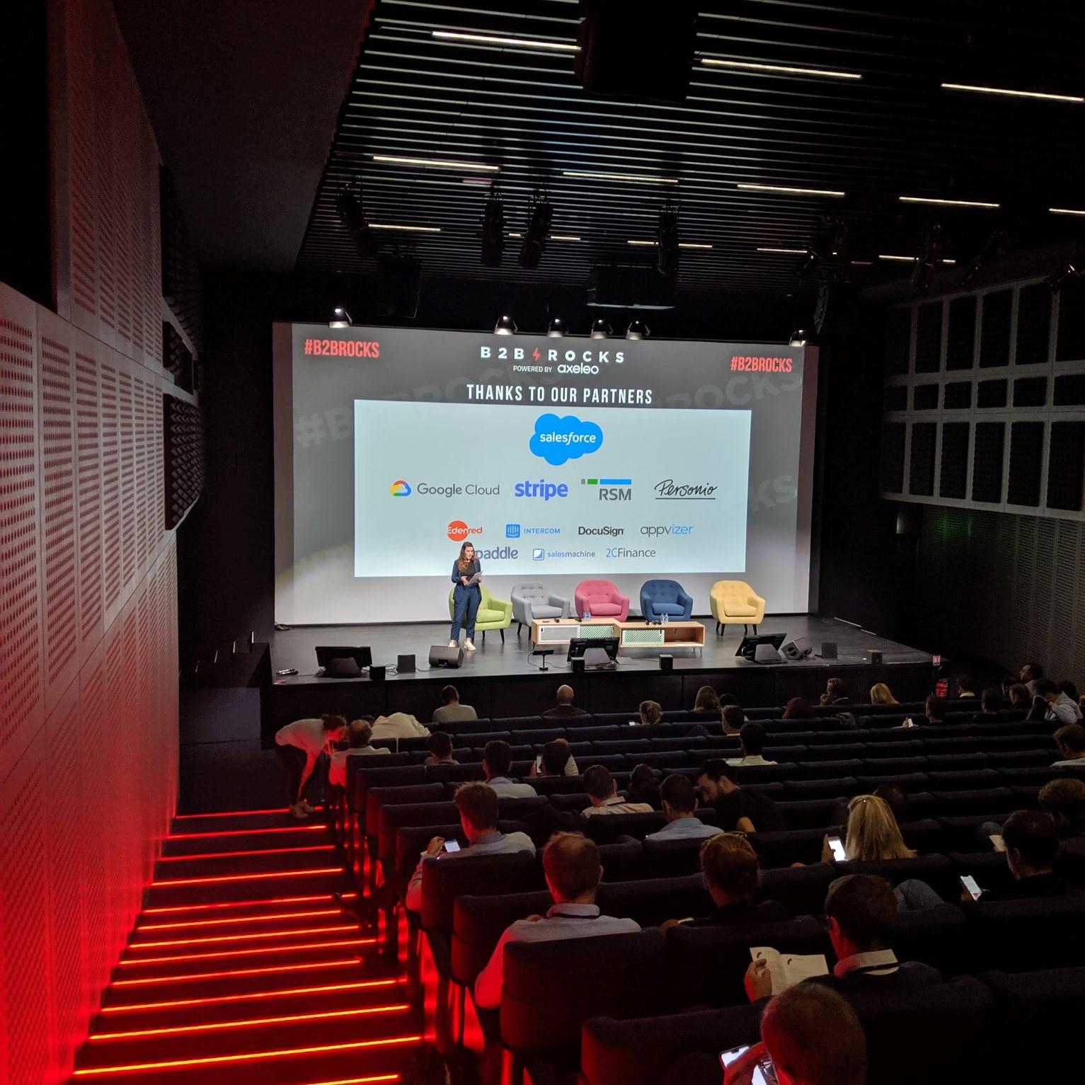 B2B Rocks Paris 2019 conférence partenaires