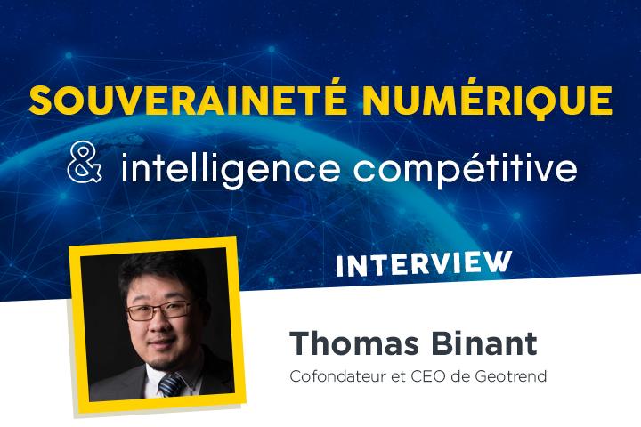 Souveraineté numérique et intelligence compétitive