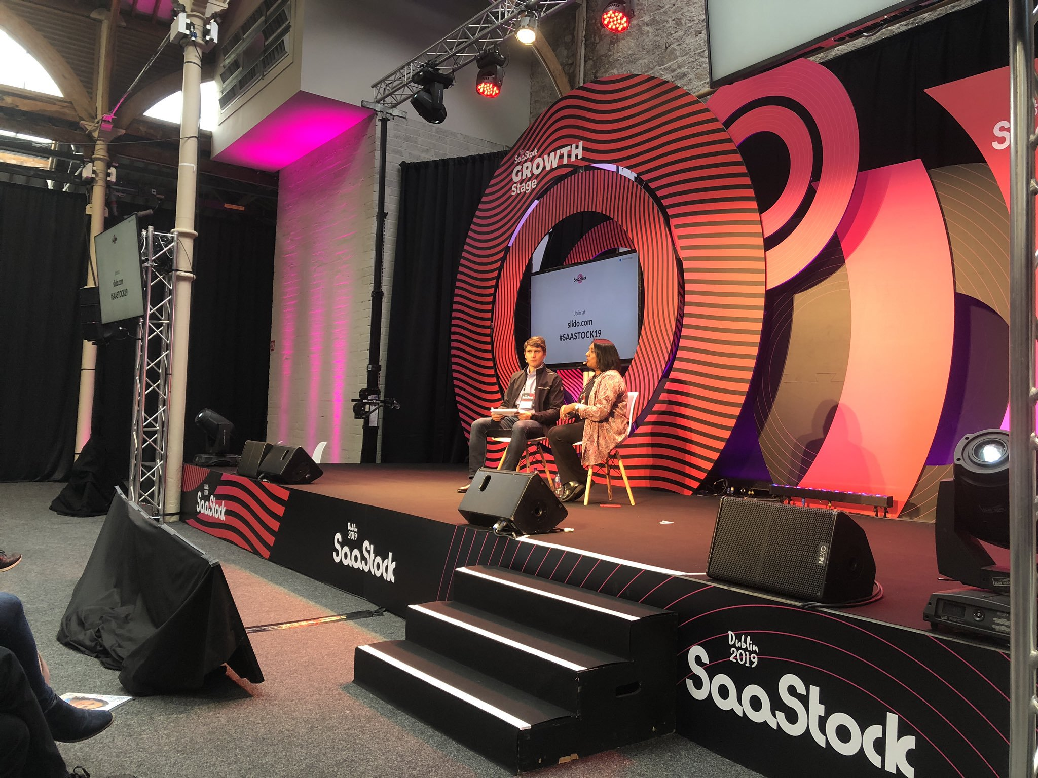 saastock dublin 2019 growth stage