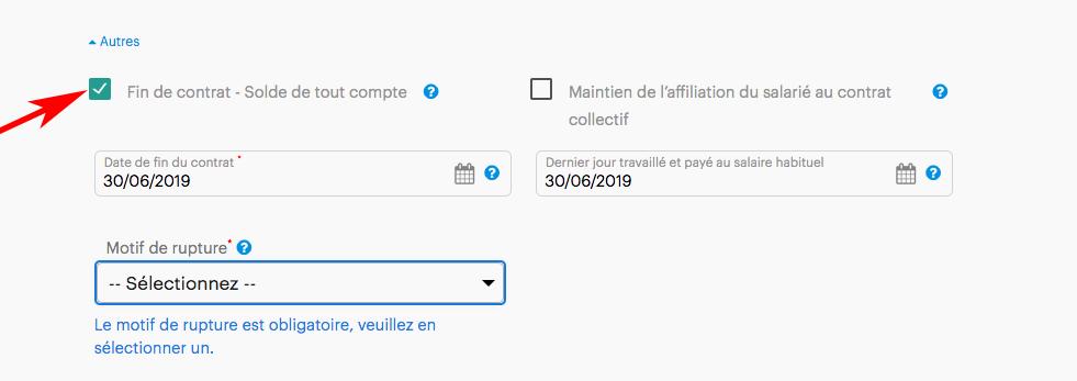 Calculer un solde de tout compte avec Fiche-Paie.net suite