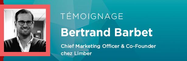 Bertrand Barbet, Chief Marketing Officer Co-Founder chez Limber
