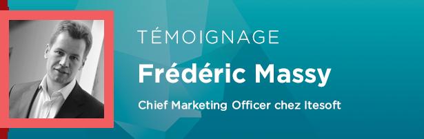 Frédéric Massy, Chief Marketing Officer chez Itesoft