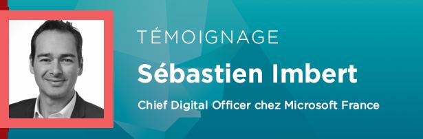 Sébastien Imbert, Chief Digital Officer chez Microsoft France