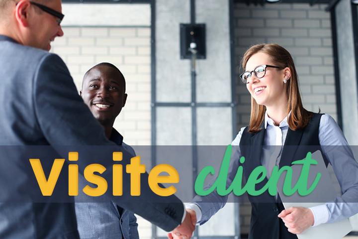 Toutes les étapes de la visite client, du planning au rapport !