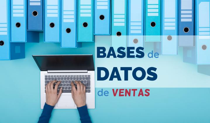 ¡Crea tu base de datos para las ventas de forma fácil y sencilla!