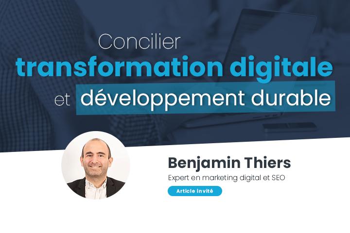 Comment engager sa transformation digitale sur la voie du développement durable ?