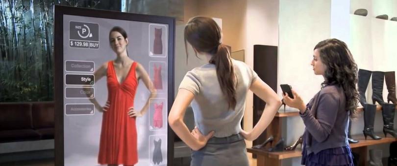 Vitrual reality fitting room
