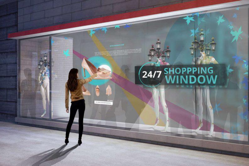 interaktives Schaufenster