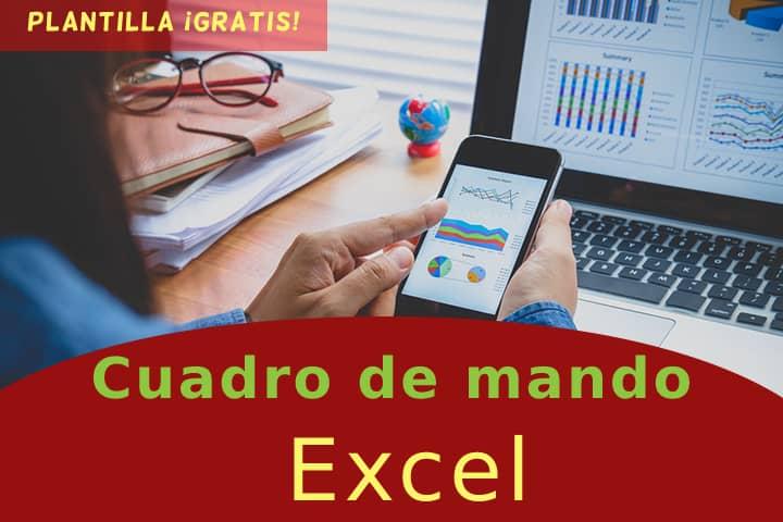 Descubre el paso a paso para crear un cuadro de mando Excel y descarga nuestra plantilla ¡gratis!