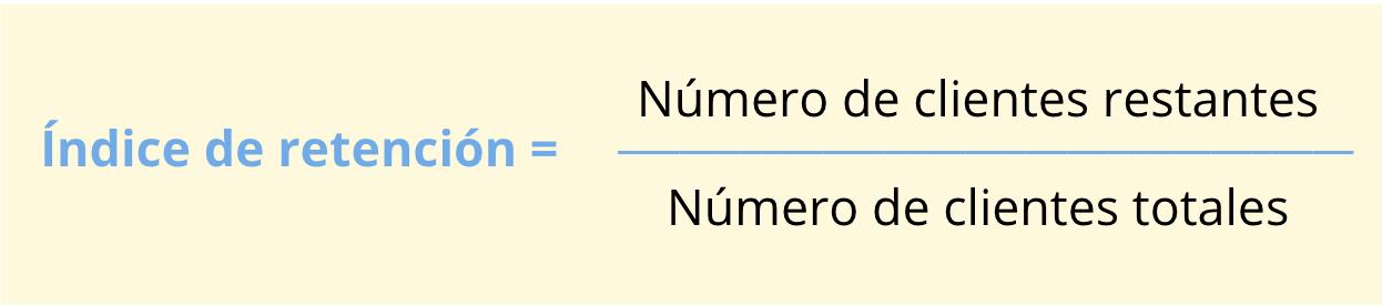 indice-de-retencion-formula