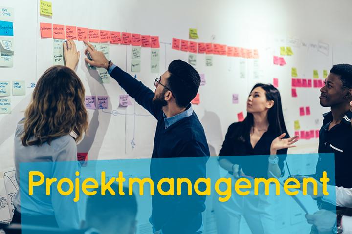 Projektmanagement - Flexibel und effizient zusammenarbeiten