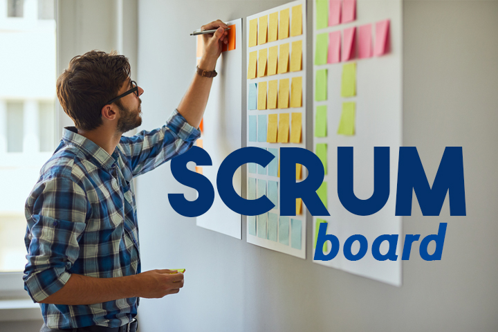 Scrum board : suivre l'avancement des User stories du backlog