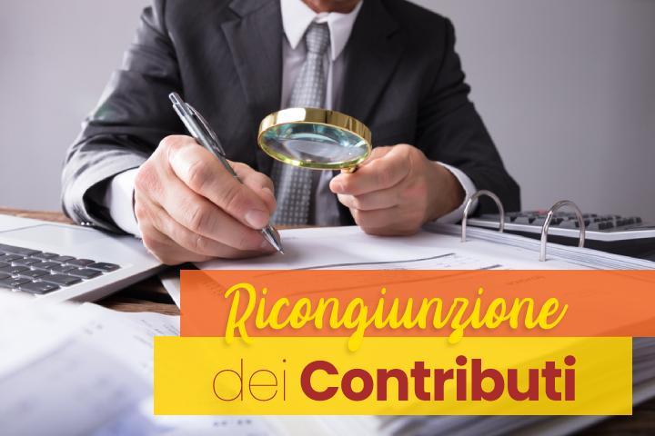 Ricongiunzione dei contributi