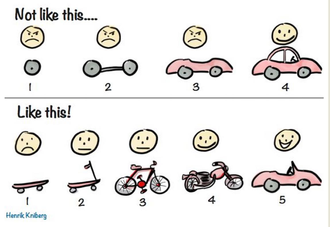 traditional vs agile