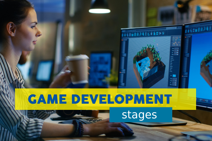 Press Start to Discover our Guide on the Game Development Stages