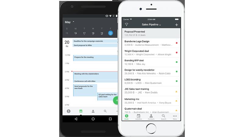 CRM mobile : Pipedrive