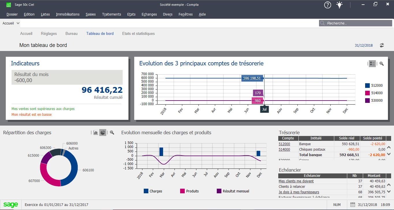 Sage 50 Compta & Facturation Interface