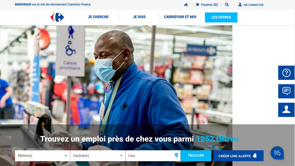 site carrière Carrefour
