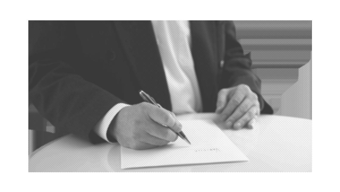 Eine rechtsgültige Unterschrift online erstellen