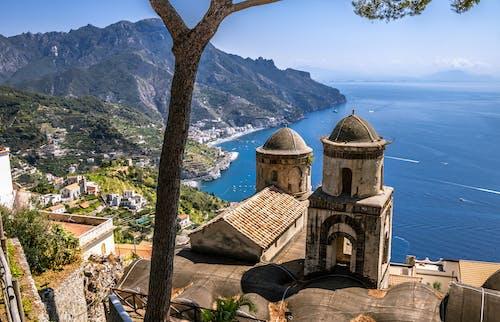 Ravello, view of the Amalfi coast