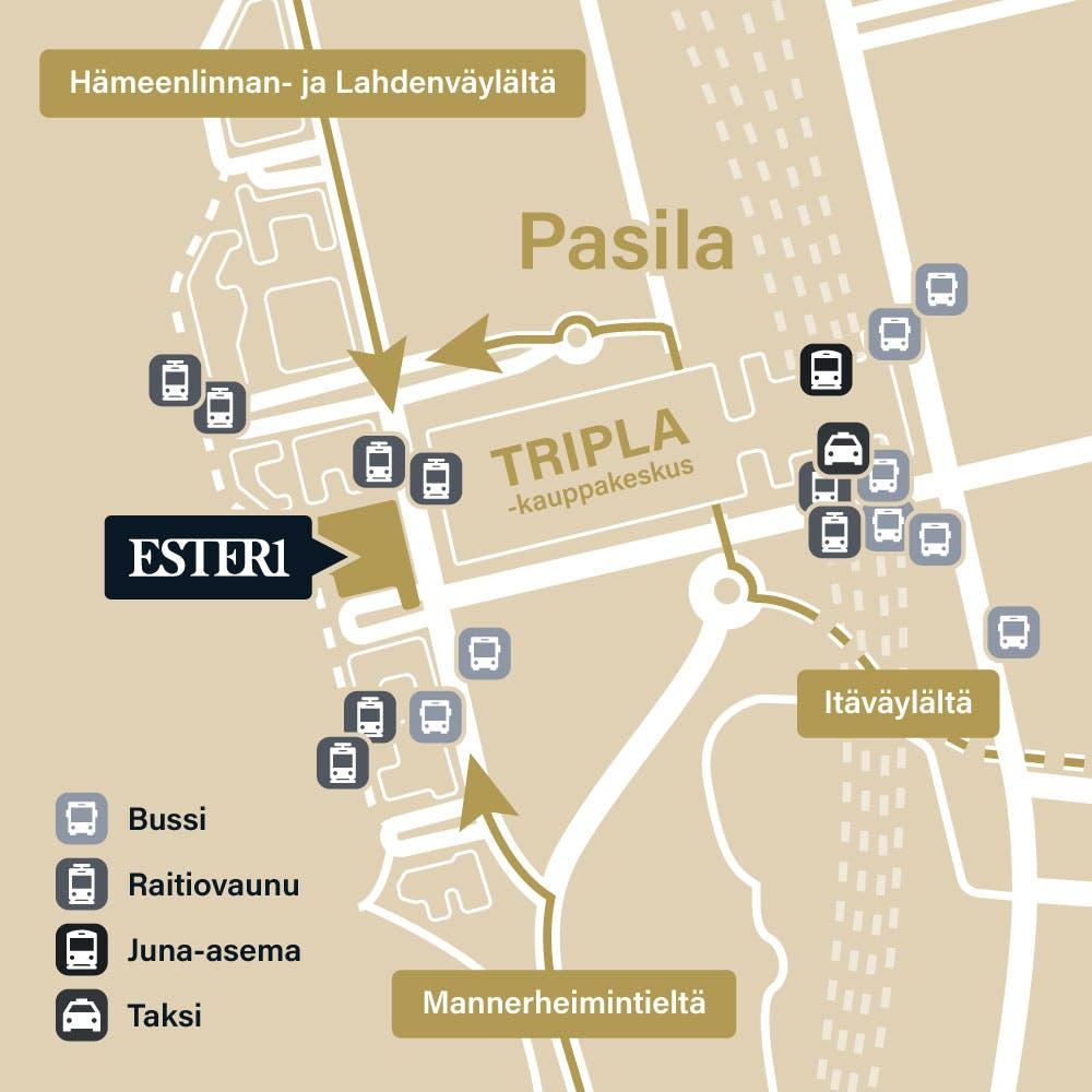 Ester1 kartta