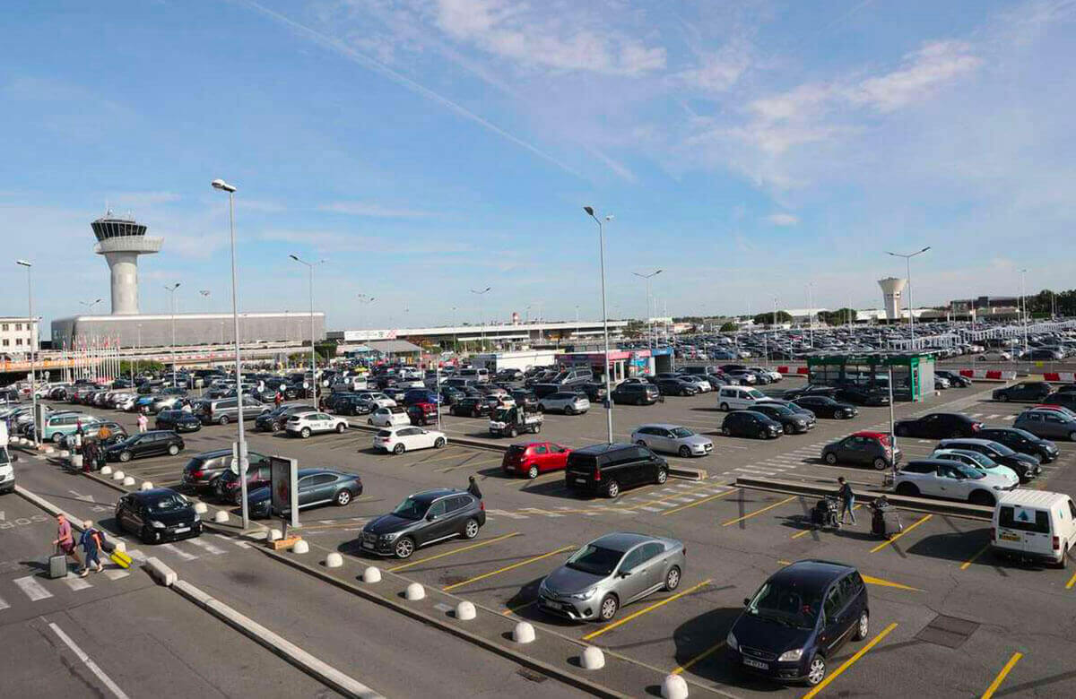 Comparateur des parkings de l'aéroport Bordeaux-Mérignac